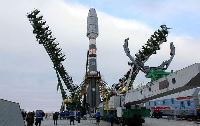 Ракета «Союз-2.1а». Фото: AFP/Getty Images