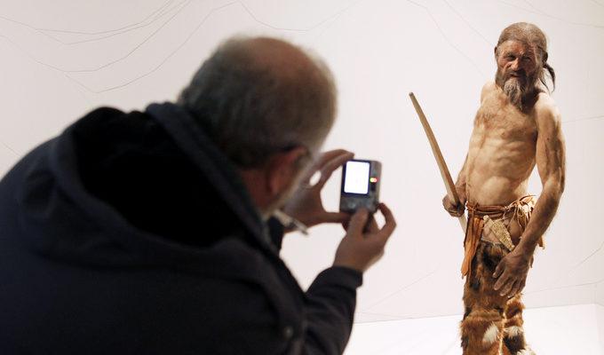 Создана 3D модель тирольской мумии