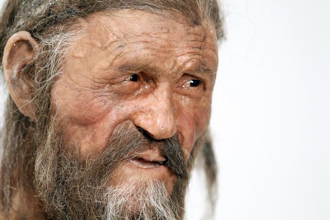 Так выглядел «тирольский ледяной человек»  при жизни. Фото: Andrea Solero/AFP/Getty Images