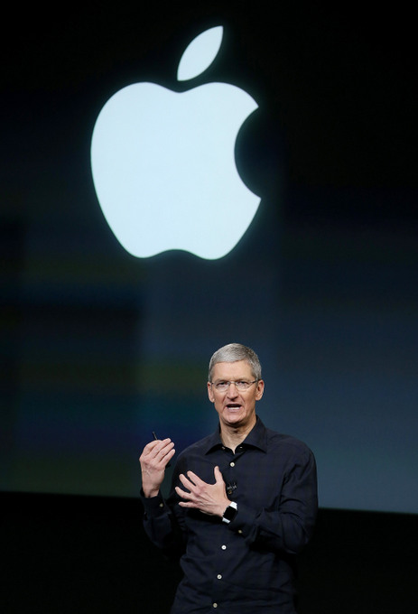 Глава Apple Тим Кук. Фото: Justin Sullivan/Getty Images