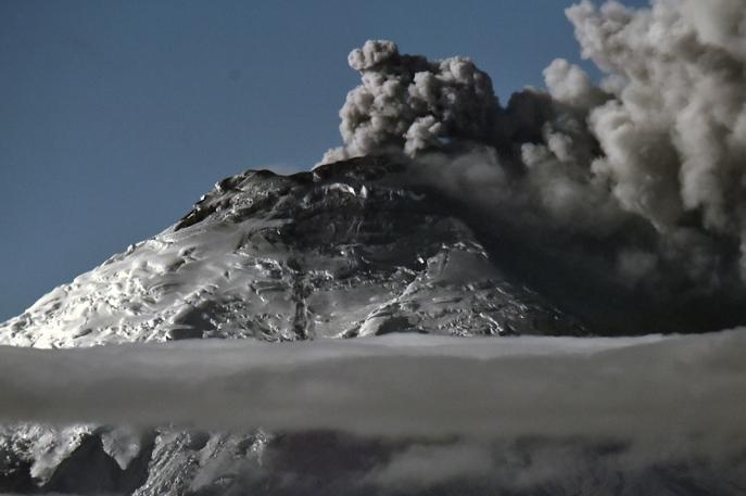 Вулкан Котопахи. Фото: RODRIGO BUENDIA/AFP/Getty Images