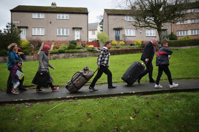 Мигрантам в Германии будет запрещено менять место жительства. Фото: Christopher Furlong/Getty Images