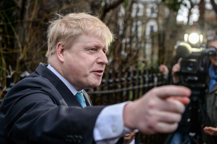 Мэр Лондона Борис Джонсон.