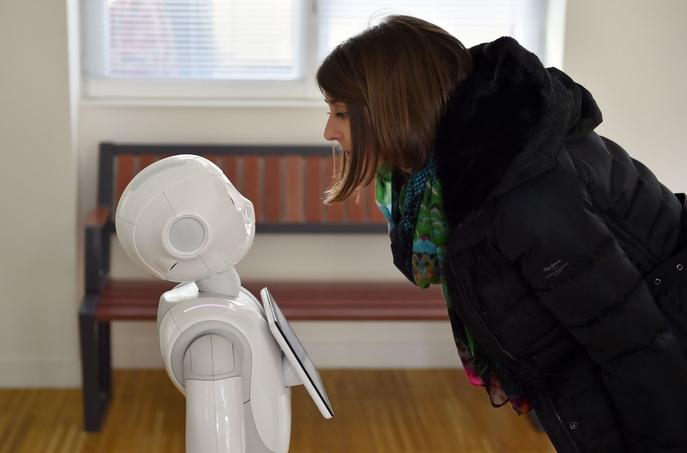 Роботы Pepper очень популярны в Японии. Фото: LOIC VENANCE/AFP/Getty Images