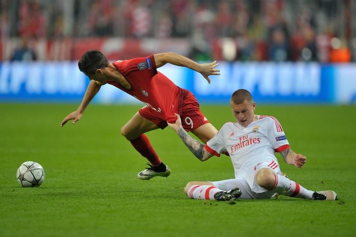 Матч «Бавария» — «Бенфика» четвертьфинала Лиги чемпионов, Мюнхен, 5 апреля, 2016 год. Фото: Preiss/Bongarts/Getty Images