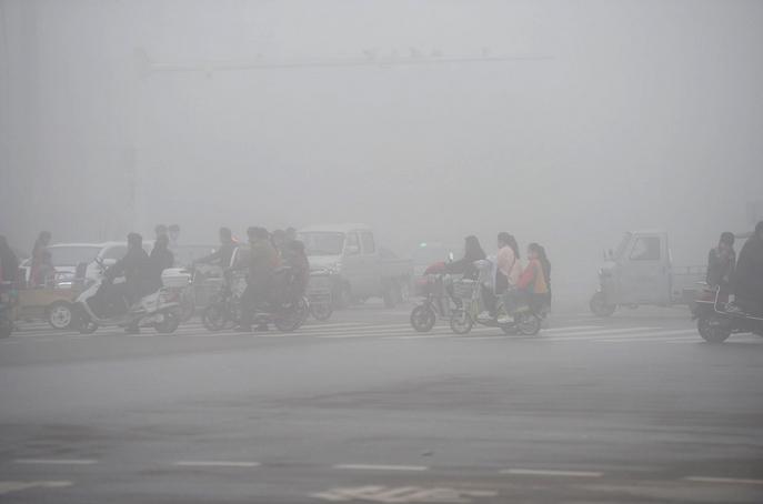 Смог в Пекине. Фото:  VCG/Getty Images
