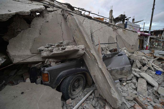 Руины города Педерналес. Фото: RODRIGO BUENDIA/AFP/Getty Images