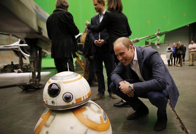 Принцы Гарри и Уильям на съёмках восьмого эпизода «Звёздных войн». Фото: Adrian Dennis-WPA Pool/Getty IMages