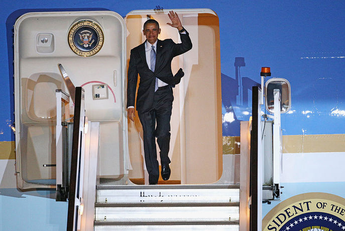 Барак Обама прибыл с визитом в Великобританию. Фото: Dan Kitwood/Getty Images