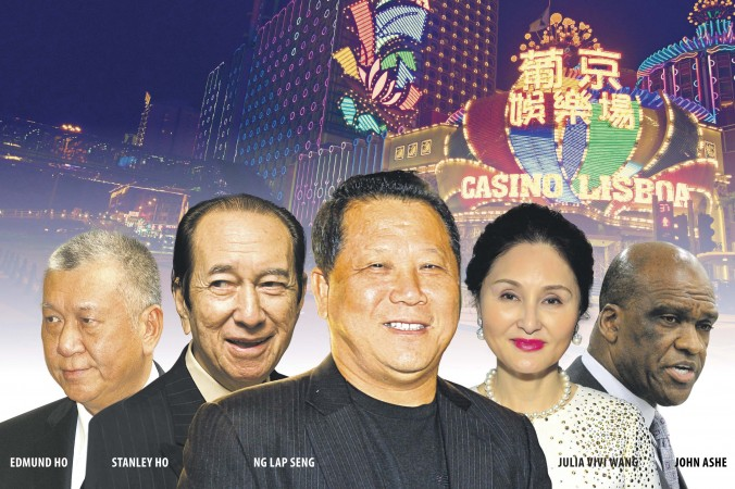 Антикоррупционная кампания докатилась до Гонконга. Политическая сеть Нг Лап Сена. Фото: Composite by Epoch Times