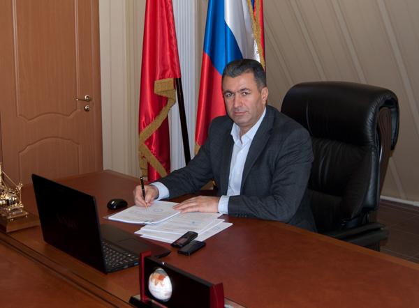 Овик Алексанян — руководитель компании «Инпрофстрой»