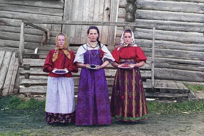 Девушки с ягодами, 1909 г. Фото: Сергей Прокудин-Горский/LOC