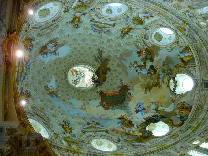 Купол в санктуарии святой Девы Марии в Викофорте. Фото: Maurizio Codogno/wikipedia.org/CC BY-SA 3.0
