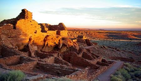Восход солнца в Вупатки, Аризона.Фото: CC BY NC 2.0