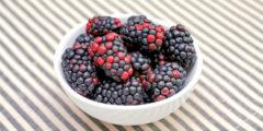 Ежевика: ягода мала – польза велика