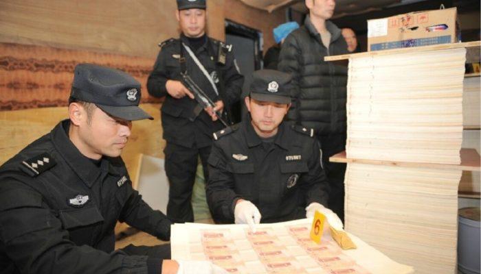 В Китае раскрыто очередное крупное производство фальшивых денег