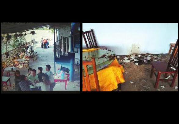 Сцены инцидента. Фото: via China Business View