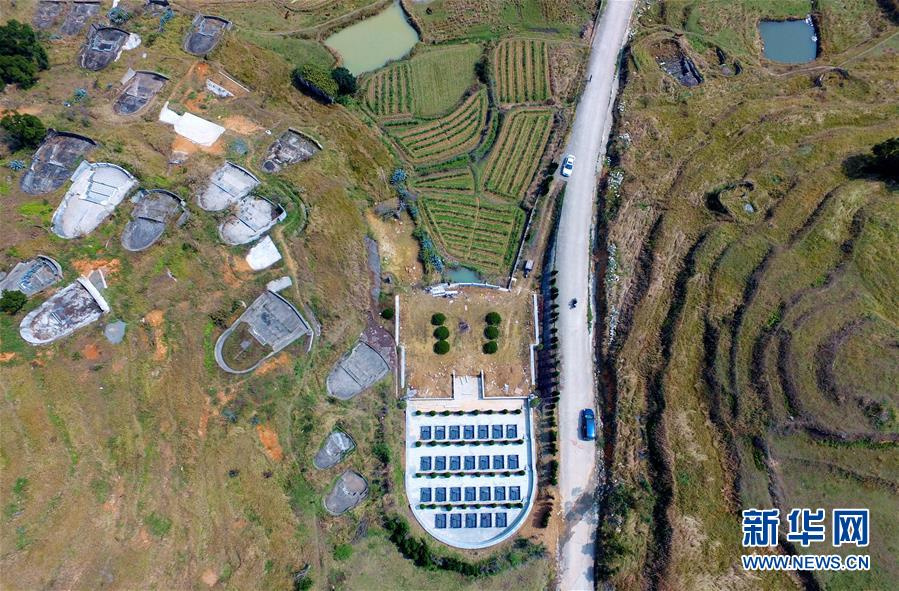 Частные кладбища, принадлежащие Чэнам и другим богатым семьям. Фото: via Xinhua