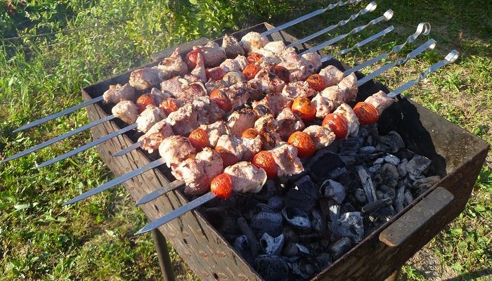Где можно пожарить шашлык в Москве