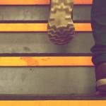 бег, лестница, тренировка