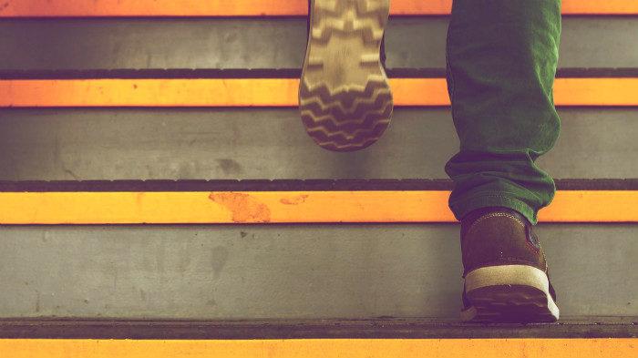 Бег по лестнице: выше только звёзды