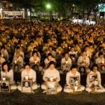 Акция памяти сторонников Фалуньгун, погибших в результате репрессий в Китае. Тайвань. Фото: The Epoch Times