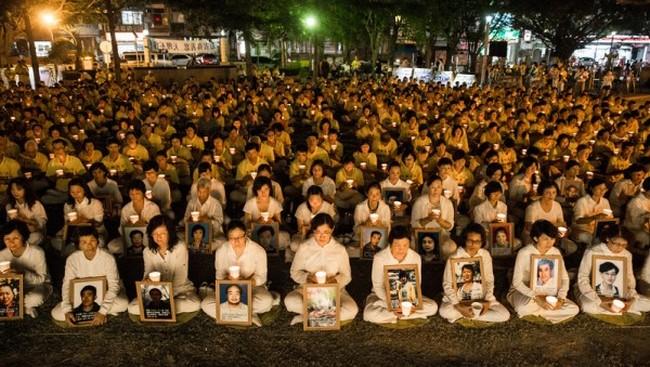 В китайском городе прошла очередная милицейская облава на сторонников Фалуньгун