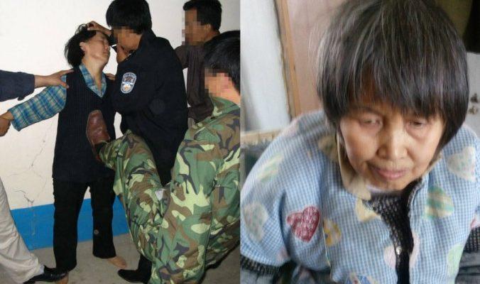 63-летняя китаянка рассказала про семь лет пыток в тюрьме
