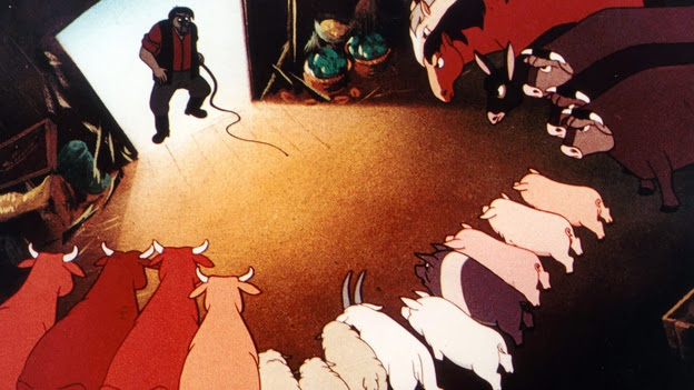 an analysis of the plot and setting o gorge orwells novel animal farm
