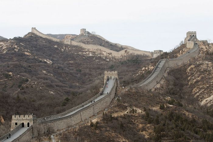 Великая китайская стена. Фото: Lintao Zhang/Getty Images