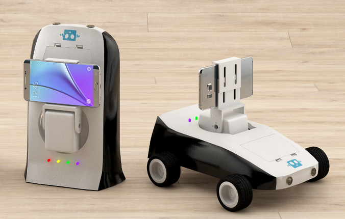 Робот-учитель (мобиробот). Фото: с сайта news.tpu.ru