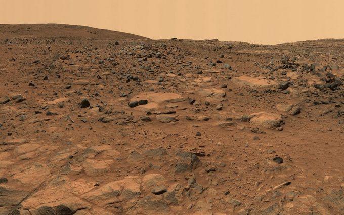 Панорама Марса. Фото: NASA