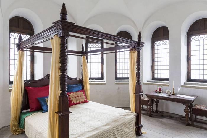 Спальня в замке Кронборг. Фото: Лиор Зильберштейн/scandinews.fi