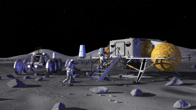 лунная база
