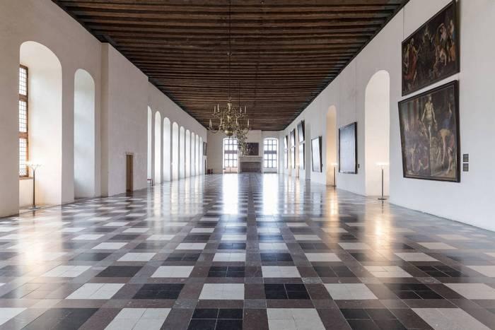 Танцевальный зал в замке Кронборг. Фото: Lior Zilberstein/scandinews.fi