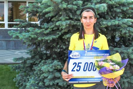 Забег «5000 метров с Высшей Лигой» в Краснодаре. Фото: Александр Трушников/Великая Эпоха