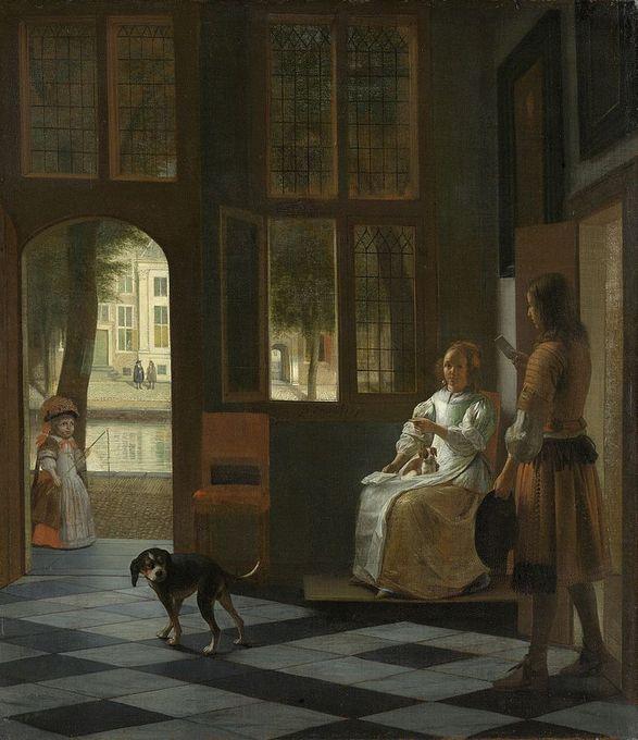 Питер де Хох «Письмо»