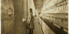 Тёмная сторона промышленной революции: детский труд в США. Фотографии начала XX века