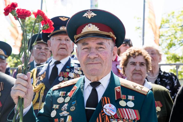 На шествии «Бессмертный полк» в Рязани. Фото: Сергей Лучезарный/Великая Эпоха