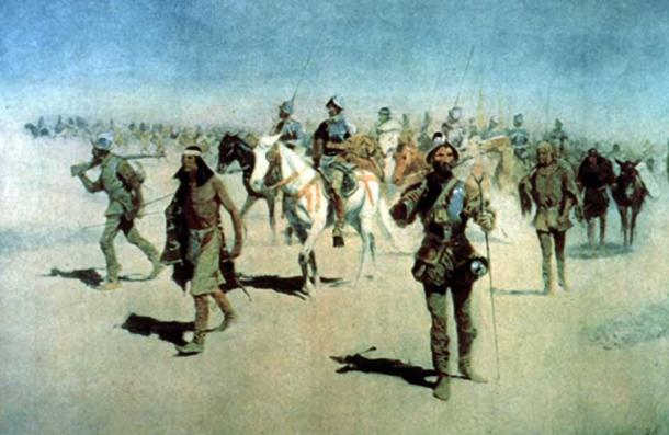 Испанская экспедиция Васкеса де Коронадо