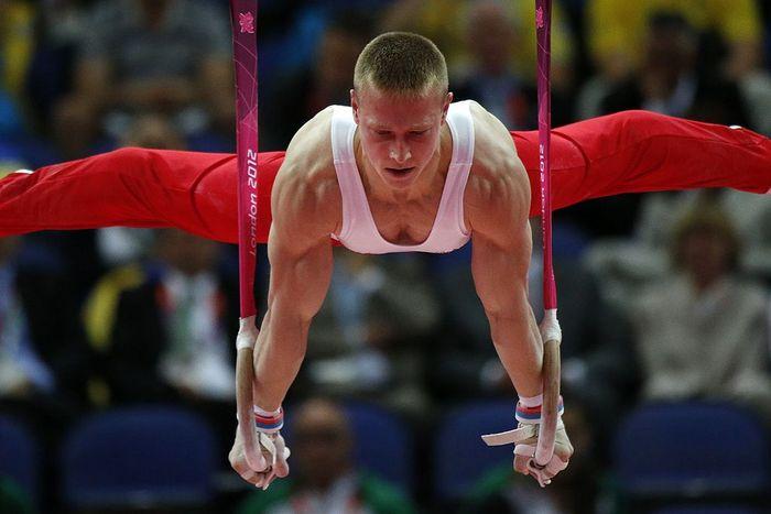 Российский гимнаст Денис Аблязин. Фото: THOMAS COEX/AFP/GettyImages