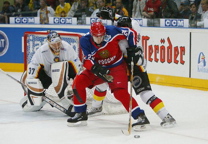 Матч «Россия — Германия». Фото: Dave Sandford/Getty Images