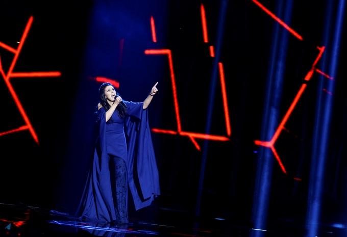 Украинская певица Джаала исполнила песню о депортации крымских татар. Фото:  JONATHAN NACKSTRAND/AFP/Getty Images