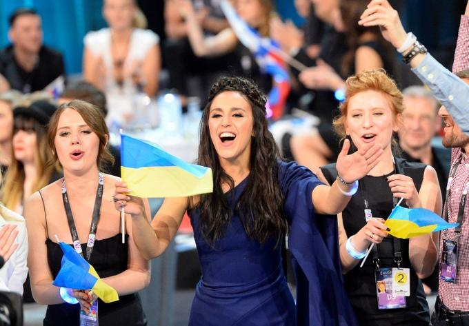 Украинская певица Джамала вышла в финал Евровидения. Фото: JONATHAN NACKSTRAND/AFP/Getty Images