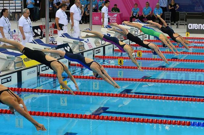 ЧЕ по водным видам спорта, Лондон, 19 мая, 2016 год. Фото: GLYN KIRK/AFP/Getty Images