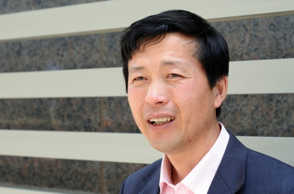 Китайский адвокат Тан Цзитянь в Пекине 29 апреля 2010 г. Фото: OLLI GEIBEL/AFP/Getty Images