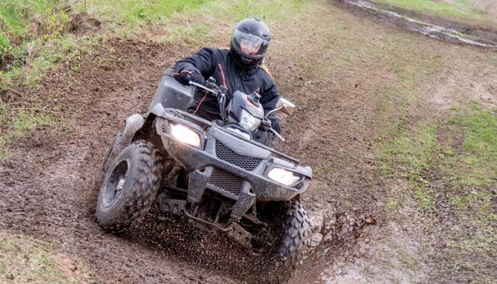Гонки на квадроциклах «Князи по грязи» прошли около Рязани (видео)