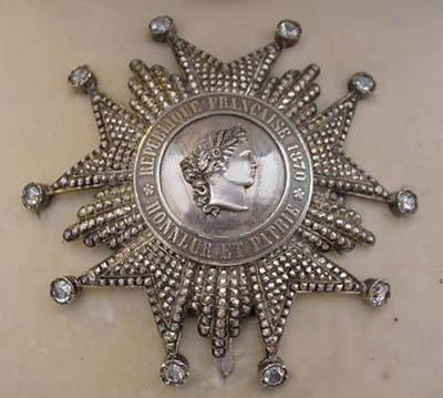 Наполеоновский орден Почётного легиона II степени