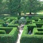 Викторианский лабиринт в ботаническом саду Миссури в Сент-Луисе 1 июня 2003 г. Фото: Public Domain