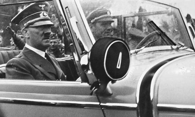 Визит Гитлера в захваченную Польшу, 1939 год.  Фото: CC BY-SA 3.0/wikipedia